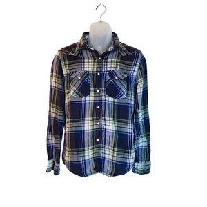 American Eagle Soft Button Down Flannel